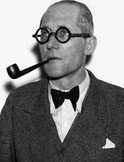 le Corbusier fume la pipe mais pas une Louis Vuitton