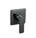 Liberty Matt black and Chrome Wall Mixer