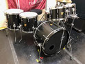"Custom. Vintage Maple 6ply / 22""x15"" BD , 10""x7.5"" , 12""x8"" TT , 14""X13"" , 16""X15"" FT (CB)"