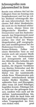 "Neujahrskonzert 2017, ""Volksblatt"""
