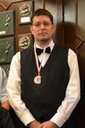 Peter Sprenkels, Gewestelijk kampioen  driebanden 3e klas in Hulst en 3e op het NK