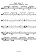 PDF Schlagzeugnoten für Anfänger