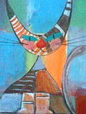 peinture chat sur toile