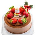 チョコクリスマスケーキ
