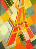 Robert Delaunay Eiffelturm