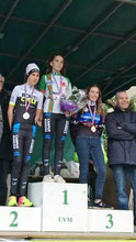 3ère Jeanne Lhuillier Ch Midi Pyrénées à Fontalba (81) Le 4 décembre 2016