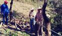 2 km Zaun für Tier und Sicherheit / 2 km cerca