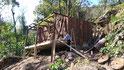 Dach abgedichtet / techo impermeabilizado