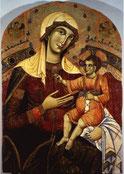 Dietisalvi di Speme, Vierge à l'enfant, 1262 / Sienne, Pinacothèque