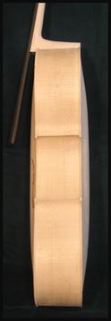 violoncelle blanc éclisse
