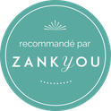 Label recommandé par Zankyou, délivré à l'agence d'organisation et de décoration de mariage Daydream Events
