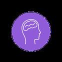 icone tête avec des mécanismes à l'intérieur
