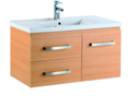 900mm Wall Hung Laminated Finished Vanity - Light