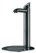 Zip Home taps with font, available in Gloss Black & Matt Black, drinking water appliance, No Wels required