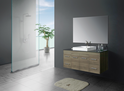 JAZZ Wall Hung vanity (available white/birch/ash grey, ceramic top/stone top with basin) - 1200mm
