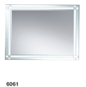 6061 Frosted Trimmed Edge Mirror - 800x600mm, 900x700mm, 1000x750mm
