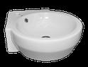 Corex II Compact Corner Basin