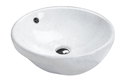 7003A Round Semi Recessed Basin