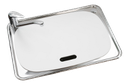 45L Stainless Steel Tub with two by-pass holes with Polymer Lid