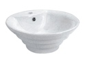 7015A Round Stepped Basin 1TH