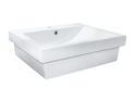 7028A Rectangle Semi Inset Basin 1/3TH