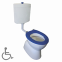 Select Assist Special Needs with Plastic Cistern Toilet Suite, WELS 4 star rating, 4.5/3L