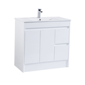 Vanities with PVC Waterproofing Cabinets (legs, wall hung)