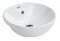7003B Round Semi Recessed Basin