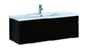 1200mm Wall Hung Laminated Finished Vanity - Dark
