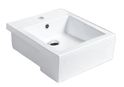 8050I Square Semi Recessed Basin