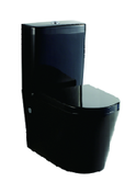 KDKB-008/KDKB-002 Black Back/Flush to Wall Toilet Suite P/S-trap:60-170mm
