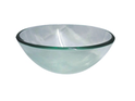 QG08-320 Round Clear Glass Vessel