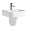 G-503 Wall Hung Basin with Shroud 550x420x450mm