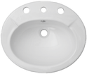 Avon Semi Recessed Counter Top Basin