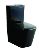 KDKB-003 Black Back/Flush to Wall Toilet Suite P/S-trap:60-170mm, WELS 4 star rating, 4.5/3L