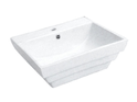 7040 Rectangle Stepped Basin 1TH