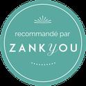 Label recommandé par Zankyou, délivré à l'agence d'organisation et de décoration de mariage My Daydream Wedding