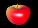 3D Apfel