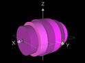 Volumen bei Rotation um x-Achse