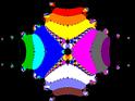 Basins of Attraction sin(z^2-1)=0