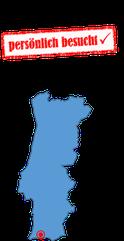 Portugalkarte Portimao