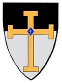 Armes portées par le grand maître Armand de Périgord