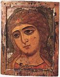Icône de l'archange Gabriel provenant de Novgorod.