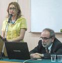 И. Грубмайр и Петр Буняк, председатель Славистического общества Сербии