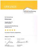 5 Sterne DTV - Zertifiziert
