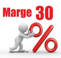 30 % de remise sur les produits c'est le minimum en vente directe