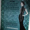 Foto einer Einladungskarte für dem Salon Boheme