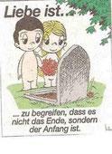 Trauern ist liebevolles Erinnern.