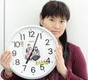 オリジナル掛け時計へ