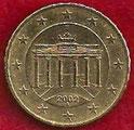 MONEDA ALEMANIA - KM 210 - 10 CÉNTIMOS DE EURO - 2.002 (A) ORO NÓRDICO (MBC/VF) 0,50€.